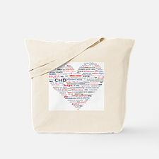Cool Chd awareness Tote Bag