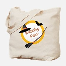 Witchy Poo Tote Bag