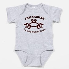 Flying Spaghetti Monster Baby Bodysuit