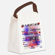 Funny Heart defects Canvas Lunch Bag