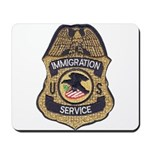Immigration Service Mousepad