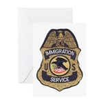 Immigration Service Greeting Card