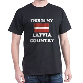 This Is My Latvia Country T-Shirt