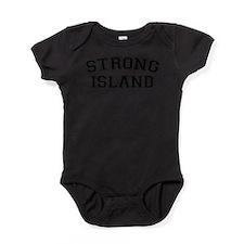 Funny Long island girls cute Baby Bodysuit