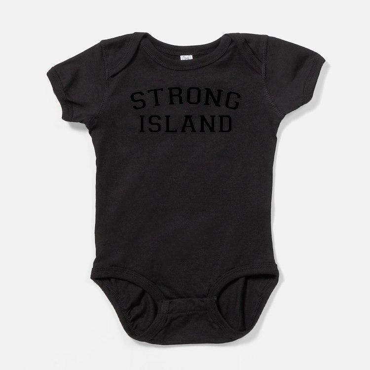 Cute Island hopping Baby Bodysuit