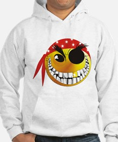 Cute Pirate smiley Hoodie