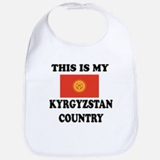 This Is My Kyrgyzstan Country Bib