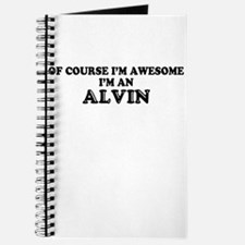 Of course I'm Awesome, Im ALVIN Journal