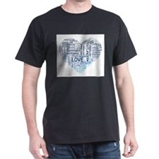 Blue Heart Outlander T-Shirt