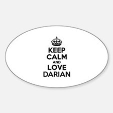 Keep Calm and Love DARIAN Decal