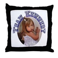 Team Kennedy 2007 Throw Pillow