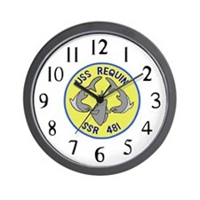USS Requin (SSR 481) Wall Clock
