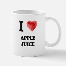 I Love Apple Juice Mugs