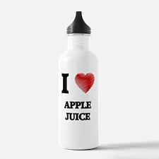 I Love Apple Juice Water Bottle
