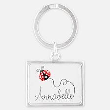 Ladybug Annabelle Keychains