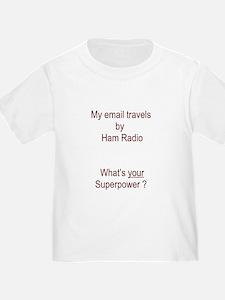 Ham Radioemail Super Power T-Shirt
