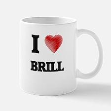 I Love Brill Mugs