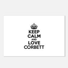 Keep Calm and Love CORBET Postcards (Package of 8)