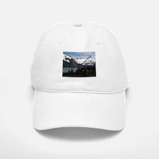 Portage Lake and mountains, Alaska, USA Baseball Baseball Cap
