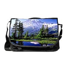 Mt Raineer National Park Messenger Bag