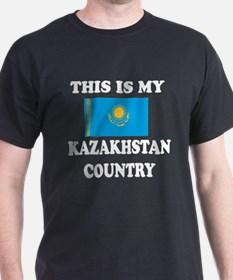 This Is My Kazakhstan Country T-Shirt
