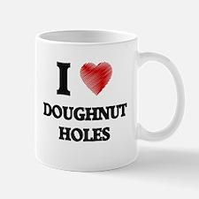 I Love Doughnut Holes Mugs