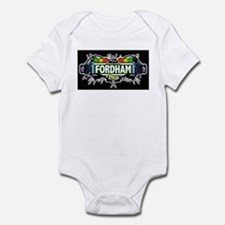 fordham (Black) Infant Bodysuit