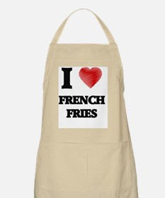 I Love French Fries Apron