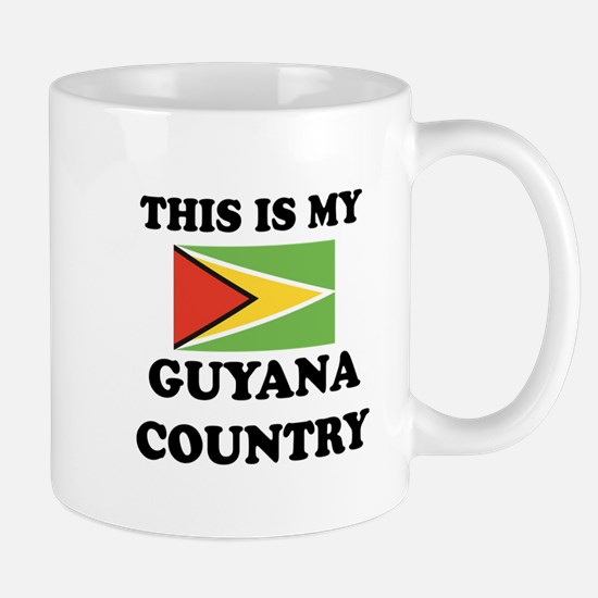 This Is My Guyana Country Mug