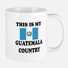 This Is My Guatemala Country Small Small Mug