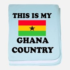 This Is My Ghana Country baby blanket
