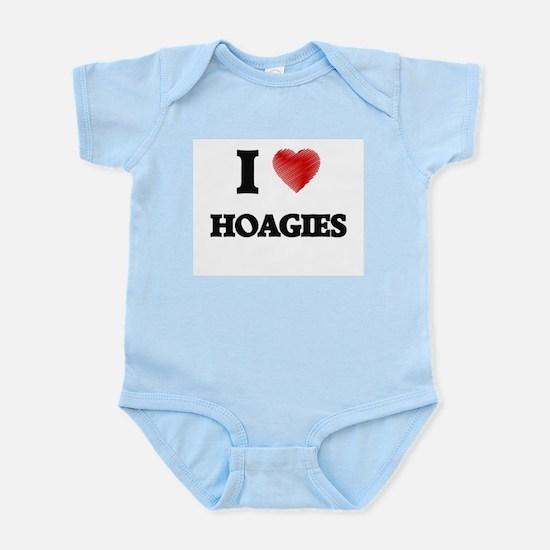 I Love Hoagies Body Suit