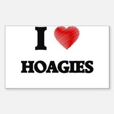 I Love Hoagies Decal