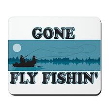 Gone Fly Fishing Mousepad