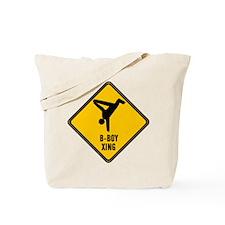 B-Boy Xing Tote Bag