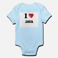 I Love Java Body Suit