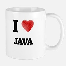 I Love Java Mugs