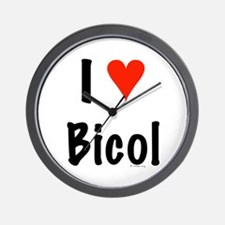 I love Bicol Wall Clock