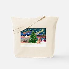 Xmas Magic & Norfolk T Tote Bag