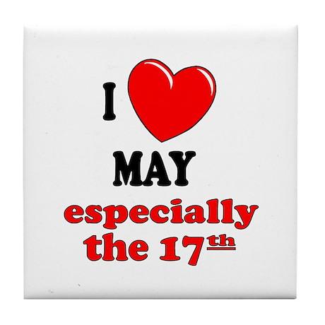 May 17th Tile Coaster