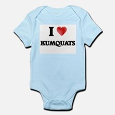 I Love Kumquats Body Suit