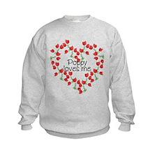 Poppy Loves Me Sweatshirt
