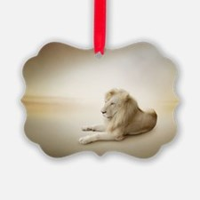 White Lion Ornament