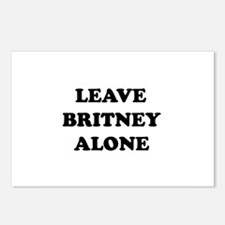 Leave Britney Alone Postcards (Package of 8)