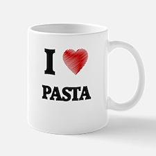 I Love Pasta Mugs