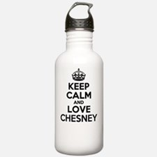Keep Calm and Love CHE Water Bottle