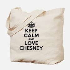 Keep Calm and Love CHESNEY Tote Bag
