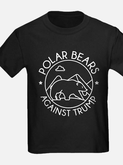 Polar Bears Against Trump T-Shirt