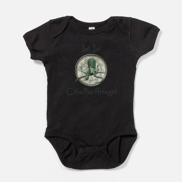 Cute Lovecraft Baby Bodysuit