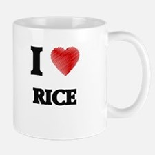 I Love Rice Mugs